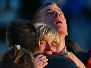 Sandy Hook parents were devastated after Friday's violence