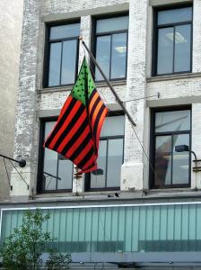 Studio Museum Harlem, Afroamerican flag