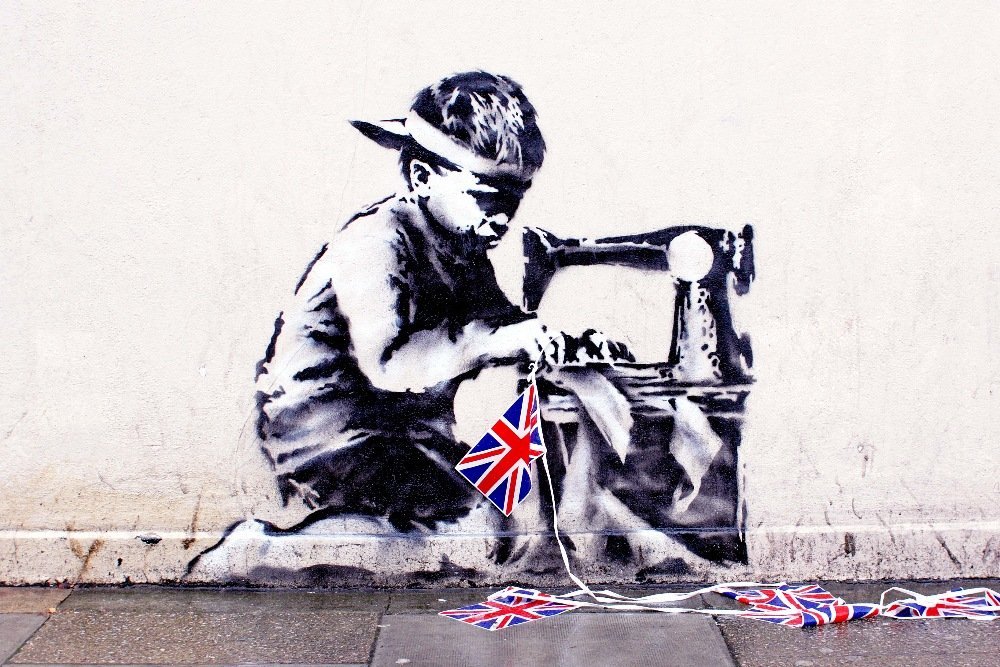 Banksy Mural Vanishes in London, Reappears in Miami