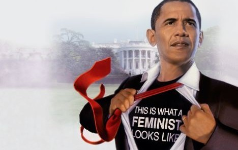 Barack Obama is one of the biggest male advocates for women's rights today