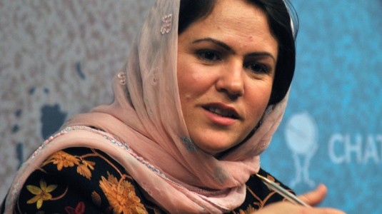 Fawzia Koofi is Afghanistan's first female parliamentary speaker and hopes to be its first female president.