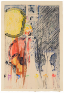 "Jasper Johns ""Untitled"" (2012) is expected to sell for up to $2 million. Image from glasstire.com"