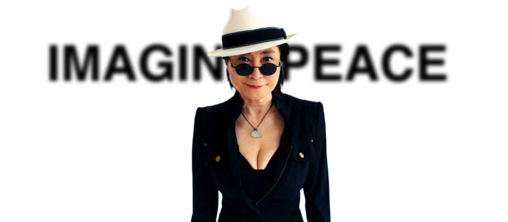Yoko Ono is one of the APF's many associated artists.