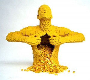 Sawaya is a New York native made famous by his LEGO creations.