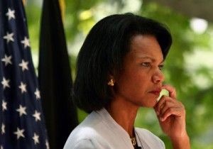 Condoleezza Rice is one of just a handful of African American Republicans.
