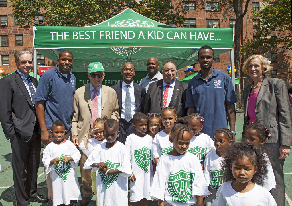 PAL Play Street Expands to NYCHA