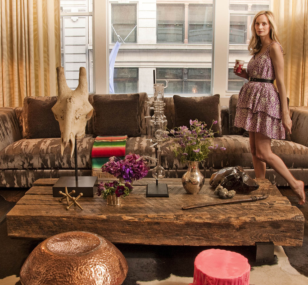 Fashionista Lauren Santo Domingo Brings 'Twisted Classic' Sensibility to Home Décor