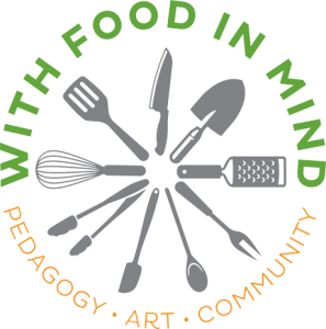 With Food in Mind logo