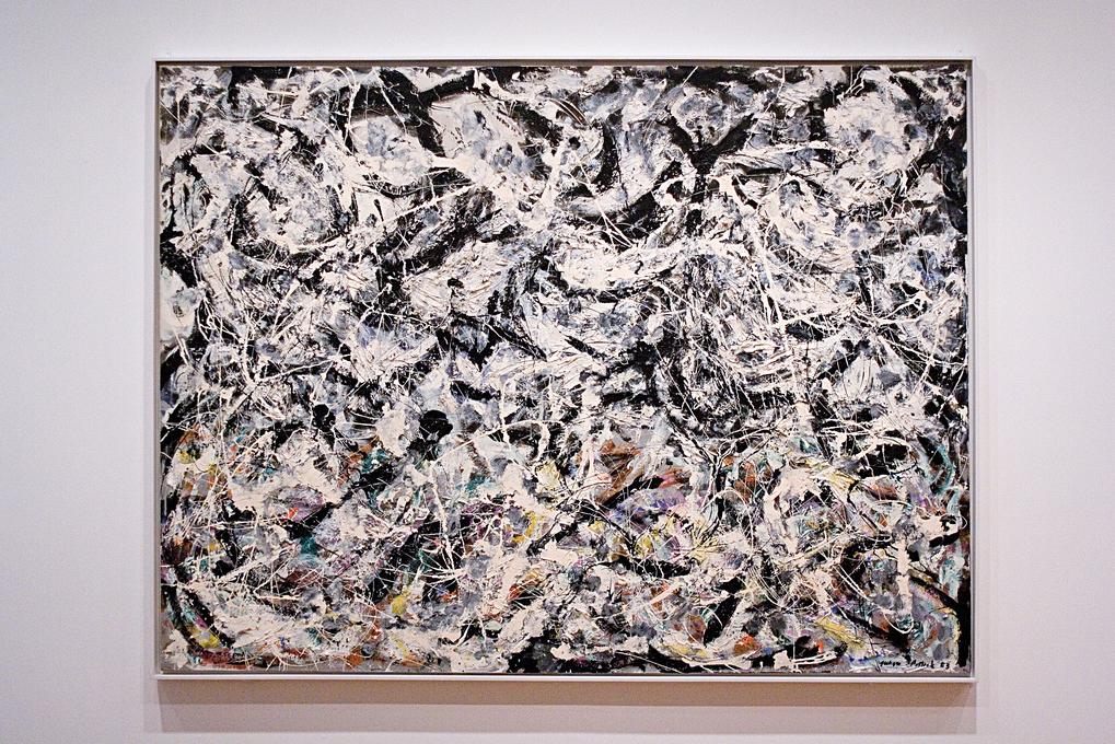 Jackson Pollock, painting