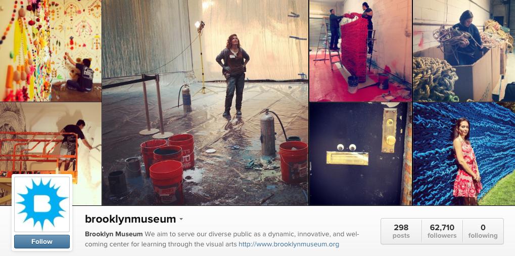 brooklyn museum instagram