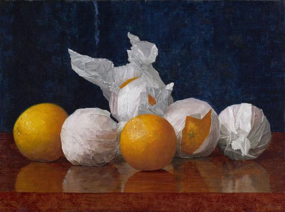 mccloskey orange painting