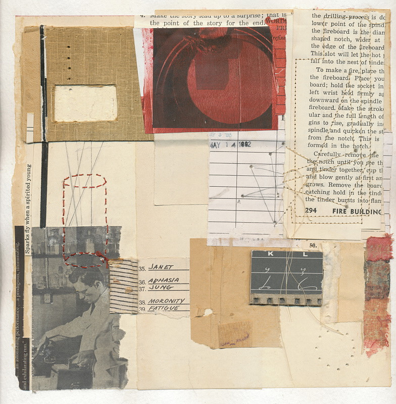 Melinda Tidwell collages