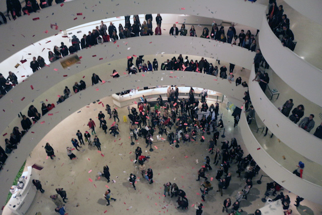 guggenheim protests