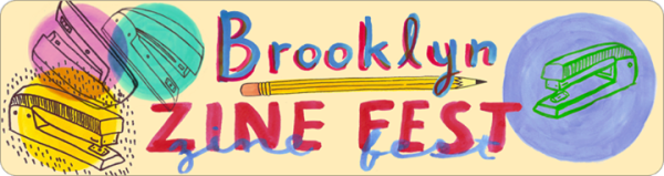 brooklyn zine fest 2014 poster