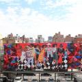 outdoor art installations high line NYC