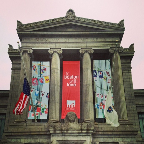 The Museum of Fine Arts, Boston / Image: mfaboston via Instagram