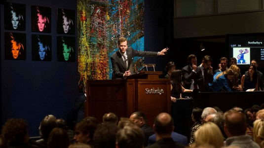 sotheby's fine art auction house