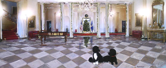 White House Holiday Card 2014