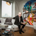 Fredric Brandt at his Chelsea home.