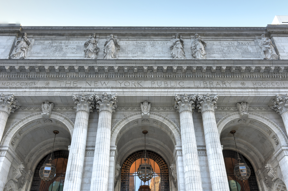 The NY Public Library.