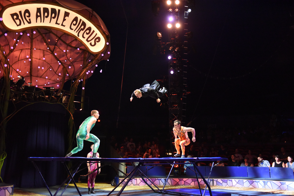 Lincoln Center Hosts the Big Apple Circus on the Grand Tour