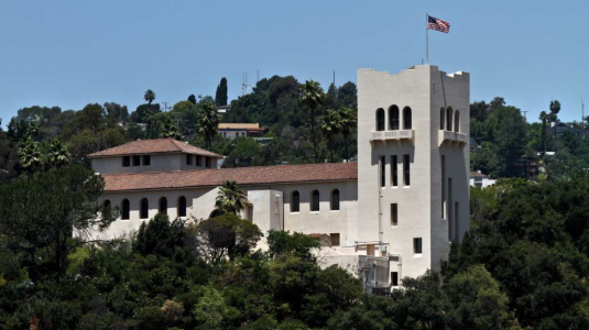 The Southwest Museum on a sunny day.