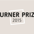 A gray and black Turner Prize 2015 logo.