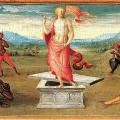 Perugino's The Resurrection.
