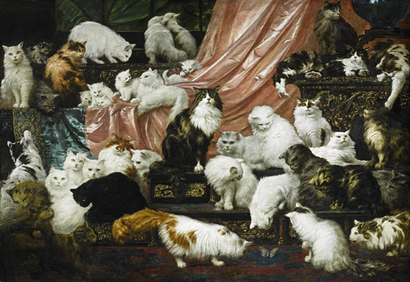 Stupendous Cat Painting Comes to Portland Art Museum