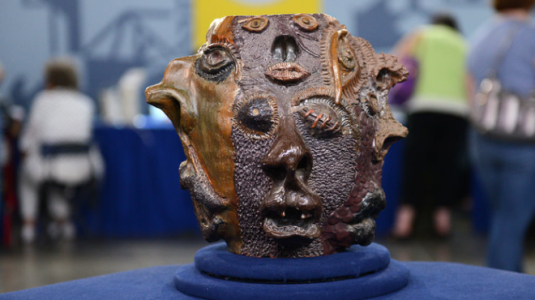 Grotesque Face Jug.