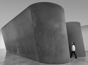 Richard Serra's NJ-1.