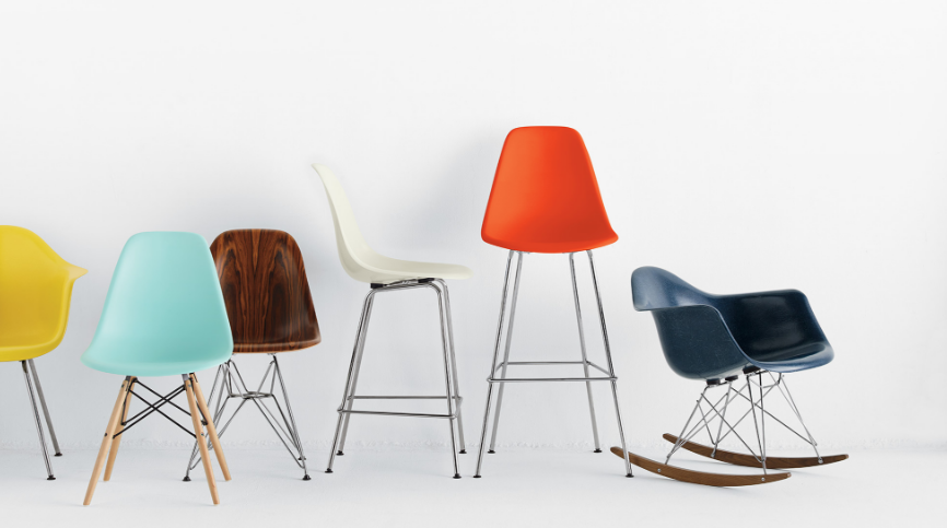 A colorful grouping of chairs & 3 Furniture Design Books to Check Out - Cultivating Culture