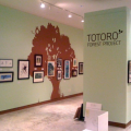 A photo of a Totoro exhibit at CAM.