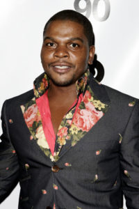 A photo of painter Kehinde Wiley.