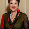 A photo of Eve Ensler, writer of The Vagina Monologues.