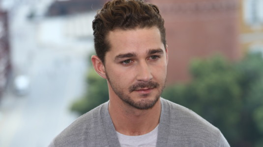 A photo of Shia LaBeouf.