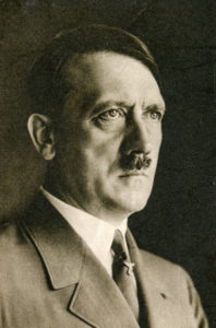A photo of Adolf Hitler.