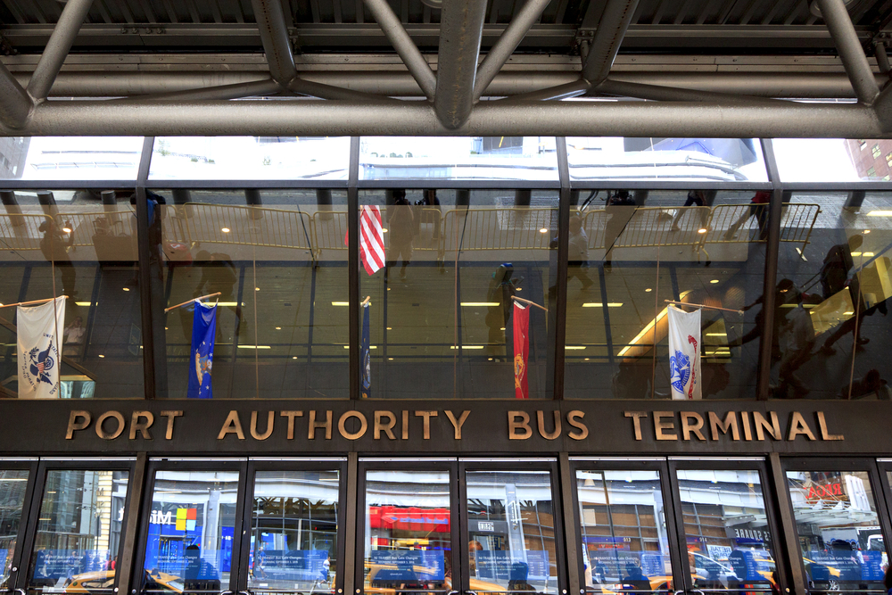 Photographer/Filmmaker Documents Port Authority Bus Terminal