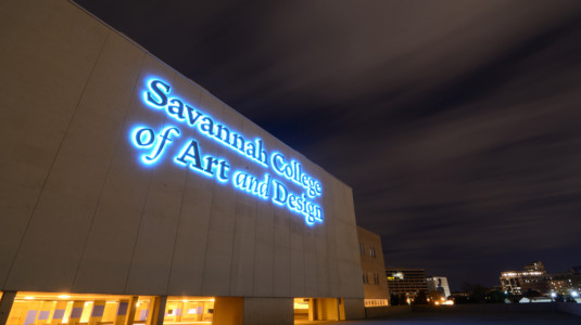 A photo of Savannah College of Art and Design's Atlanta campus.