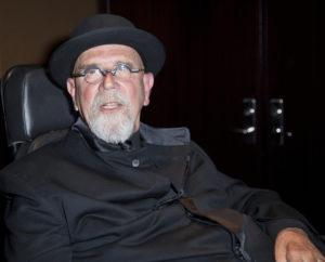A photo of acclaimed artist Chuck Close, who was recently accused of sexual harassment.