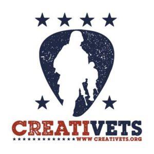 CreatiVets' logo.