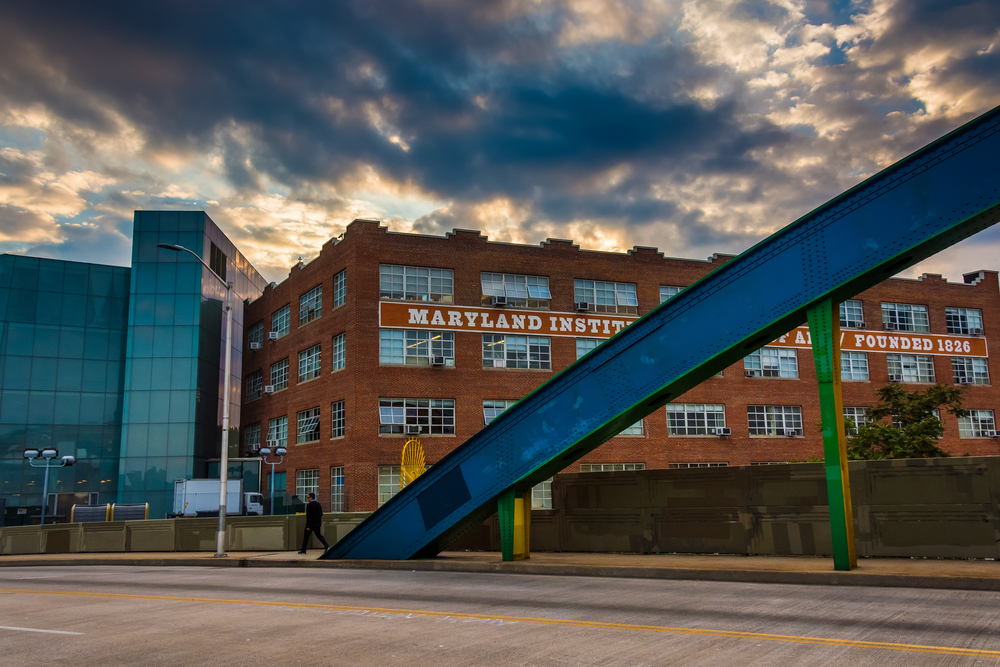 A photo of the Maryland Institute College of Art in Baltimore.