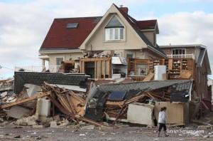 Rockaway Beach homes were devastated by Sandy