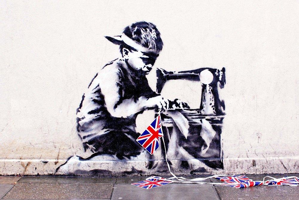 Banksy Mural Vanishes in London, Reappears in Miami
