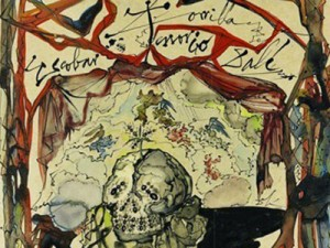 Phivos Istavrioglou stole Dali's , Cartel des Don Juan Tenorio, from a Manhattan gallery in June 2012. He later returned the painting after seeing surveillance images.