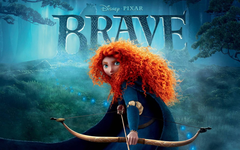 Brave's Merida is gutsy, gritty, and unkempt--and she's a realistic and healthy role model for girls.