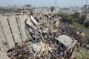 Factory collapses are a recurring problem in Bangladesh, the latest claiming 1,127 lives. Image: AP