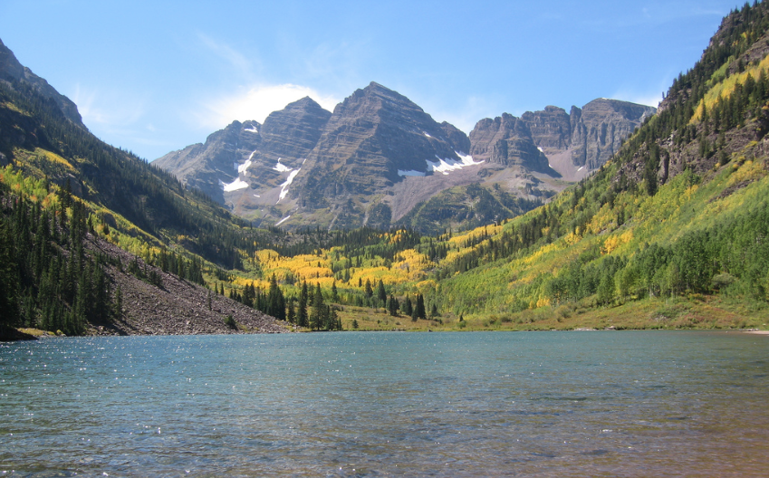 beautiful scenery in Aspen Colorado