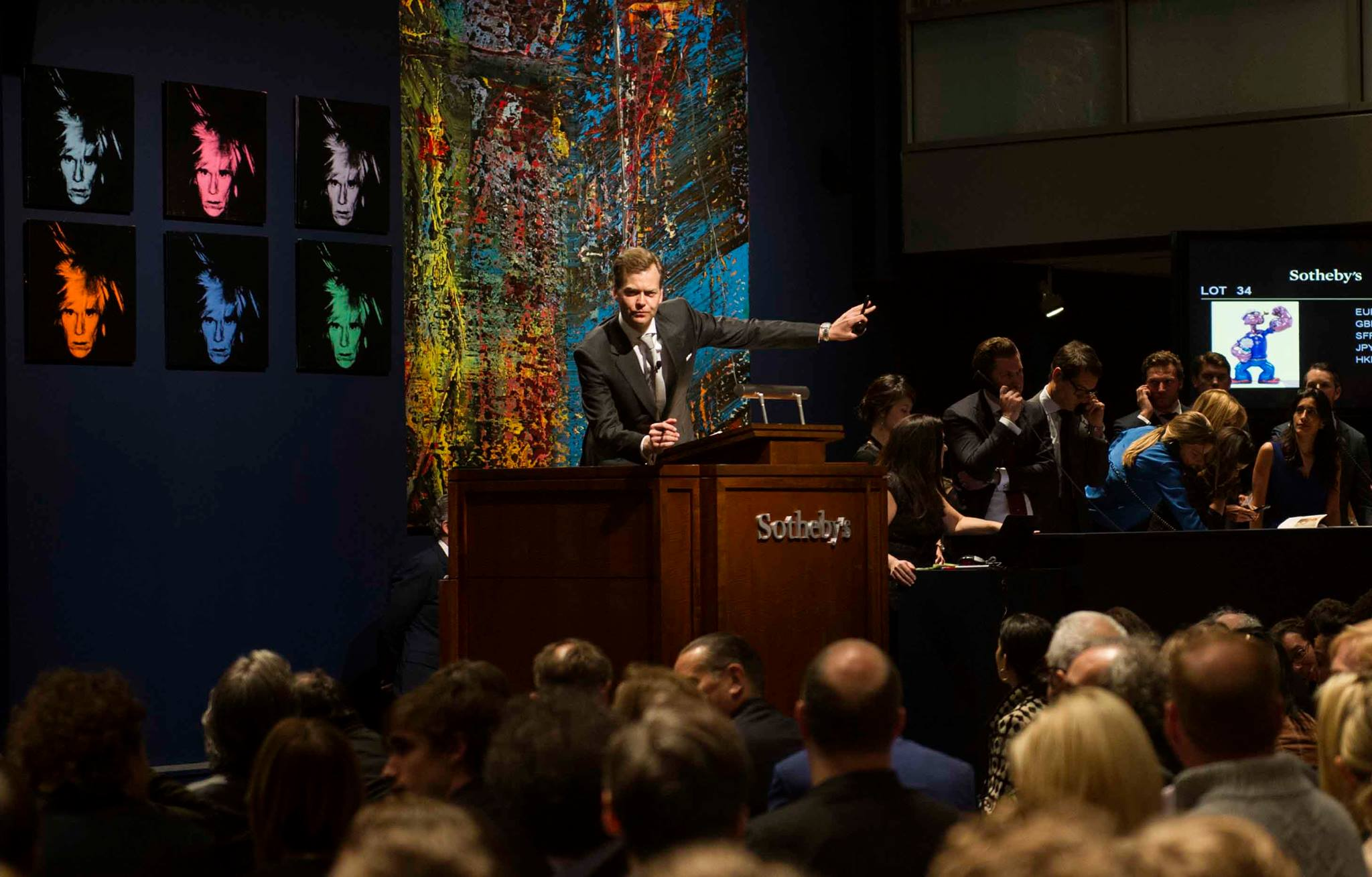 Fine Art Meets Big Business at Sotheby's