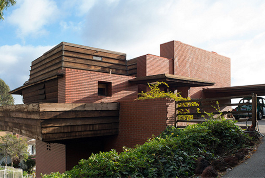 Los Angeles Frank Lloyd Wright Home Goes Up for Auction